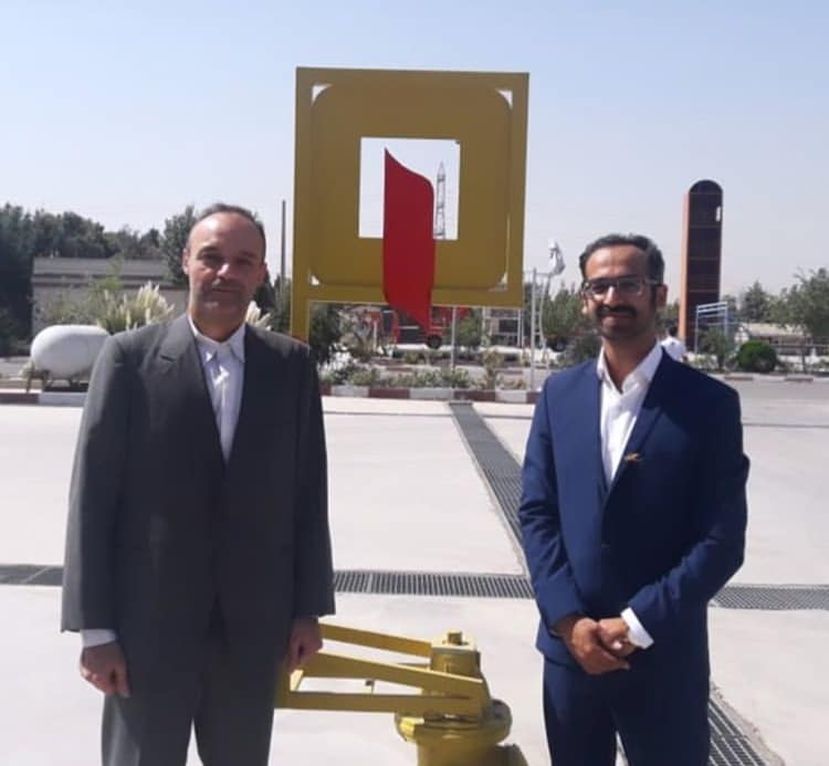 بازدید از مرکز آموزش سازمان آتش نشانی تهران