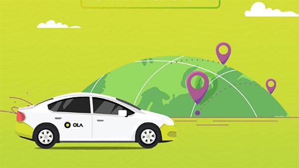Ola-Cabs taxi