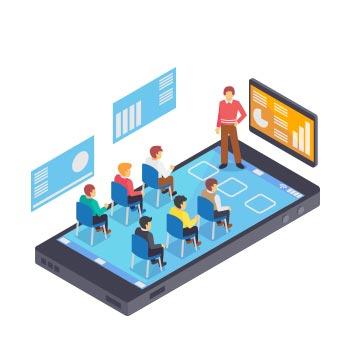 نرم افزار تدریس آنلاین
