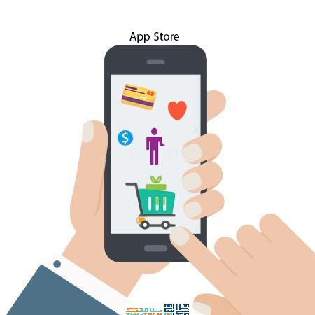 طراحی اپلیکیشن فروش